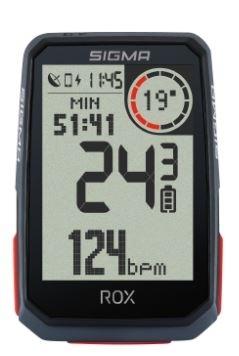 počítač SIGMA ROX 4.0, GPS HR, 30 funkcí, černý