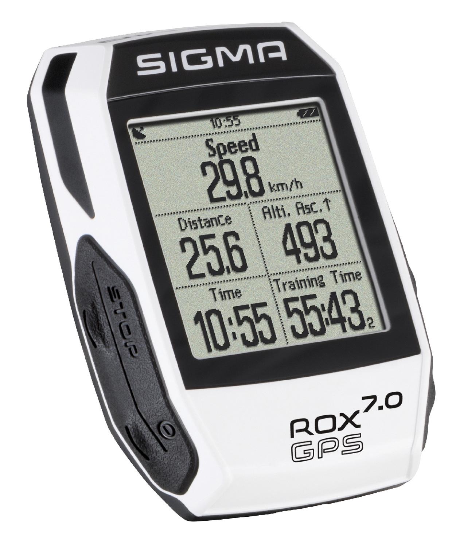počítač SIGMA ROX 7.0 GPS bílý