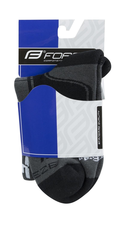 ponožky F FREEZE, černo-šedo-bílé S-M/36-41