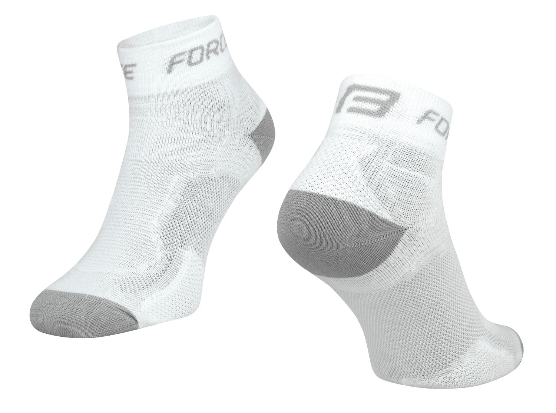 ponožky FORCE 2, bílo-šedé S - M