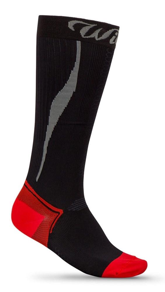 ponožky WILIER kompresní černé 46-47