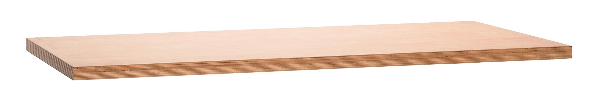 pracovní deska UNIOR 1500x750x40 mm, dřevěná