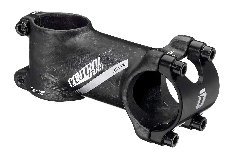 představec CONTROL.EXL 31,8/80 mm/5°,Al/karbon,črn