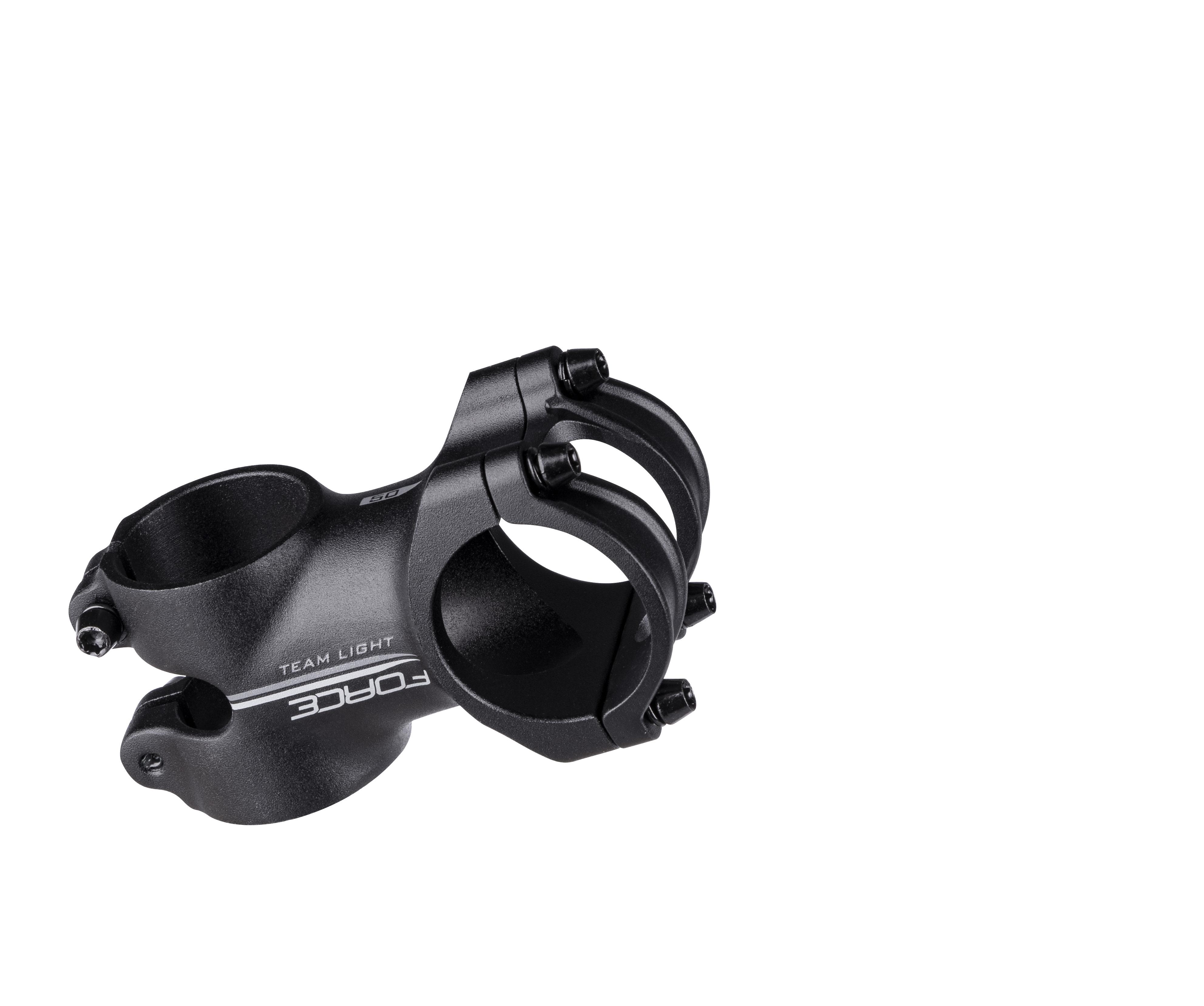 představec F.TEAM light 31,8/50mm,6° Al,černý mat