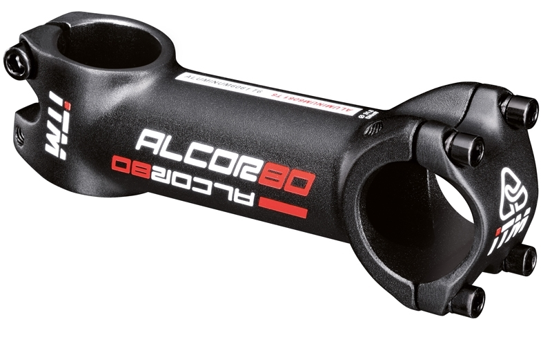 představec ITM ALCOR 80 31,8/90mm/10° Al, černý