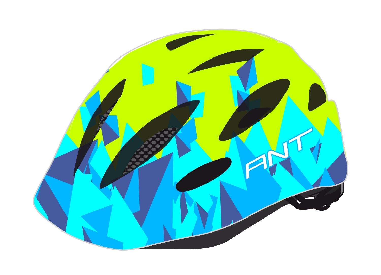 přilba FORCE ANT dětská, fluo-modrá S-M
