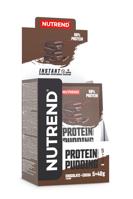 PROTEIN Pudding 5x 40 g, čokoláda+kakao
