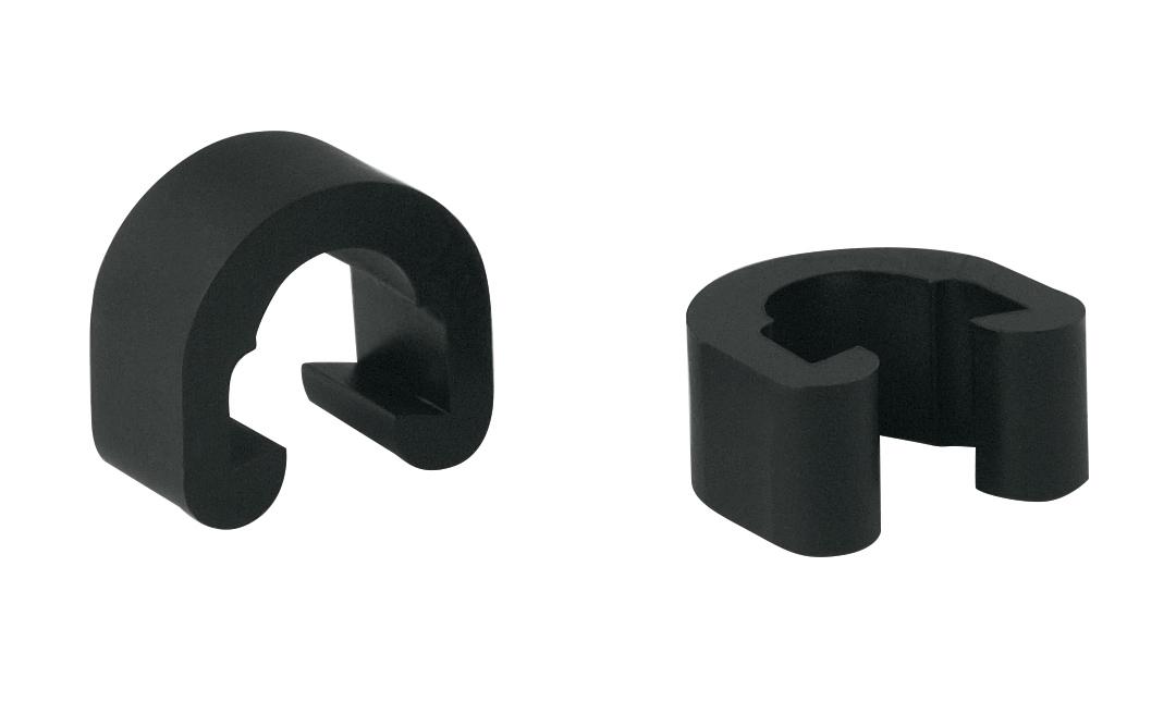 průvlak na bowdeny plast, černý