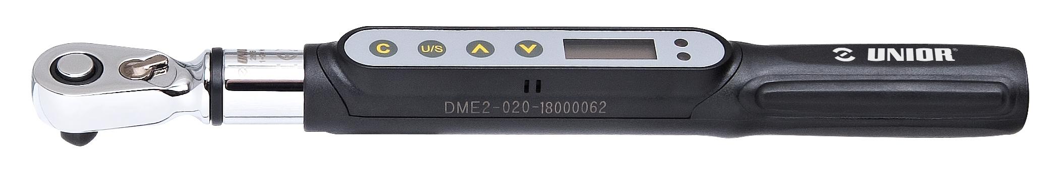 """ráčna momentová UNIOR 1/4"""" 1 - 20 Nm digitální"""