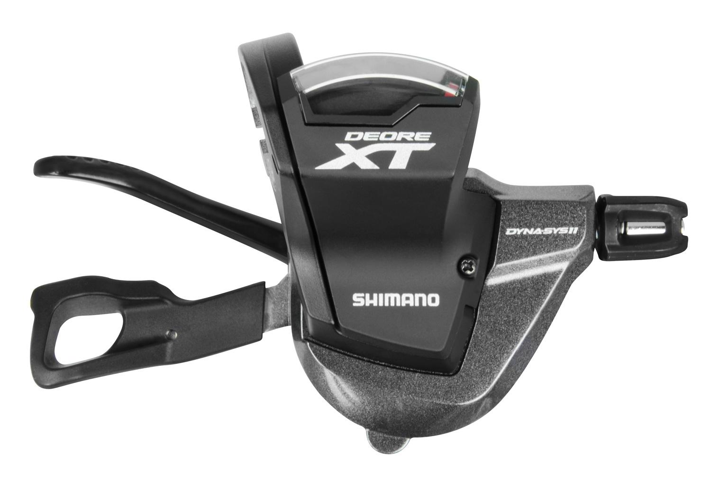 řadící páčka XT SLM8000 L+R 11 k pravá, s objímkou