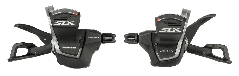 řadící páčky SLX SLM7000 L+R 11 x 2/3k, s objímkou