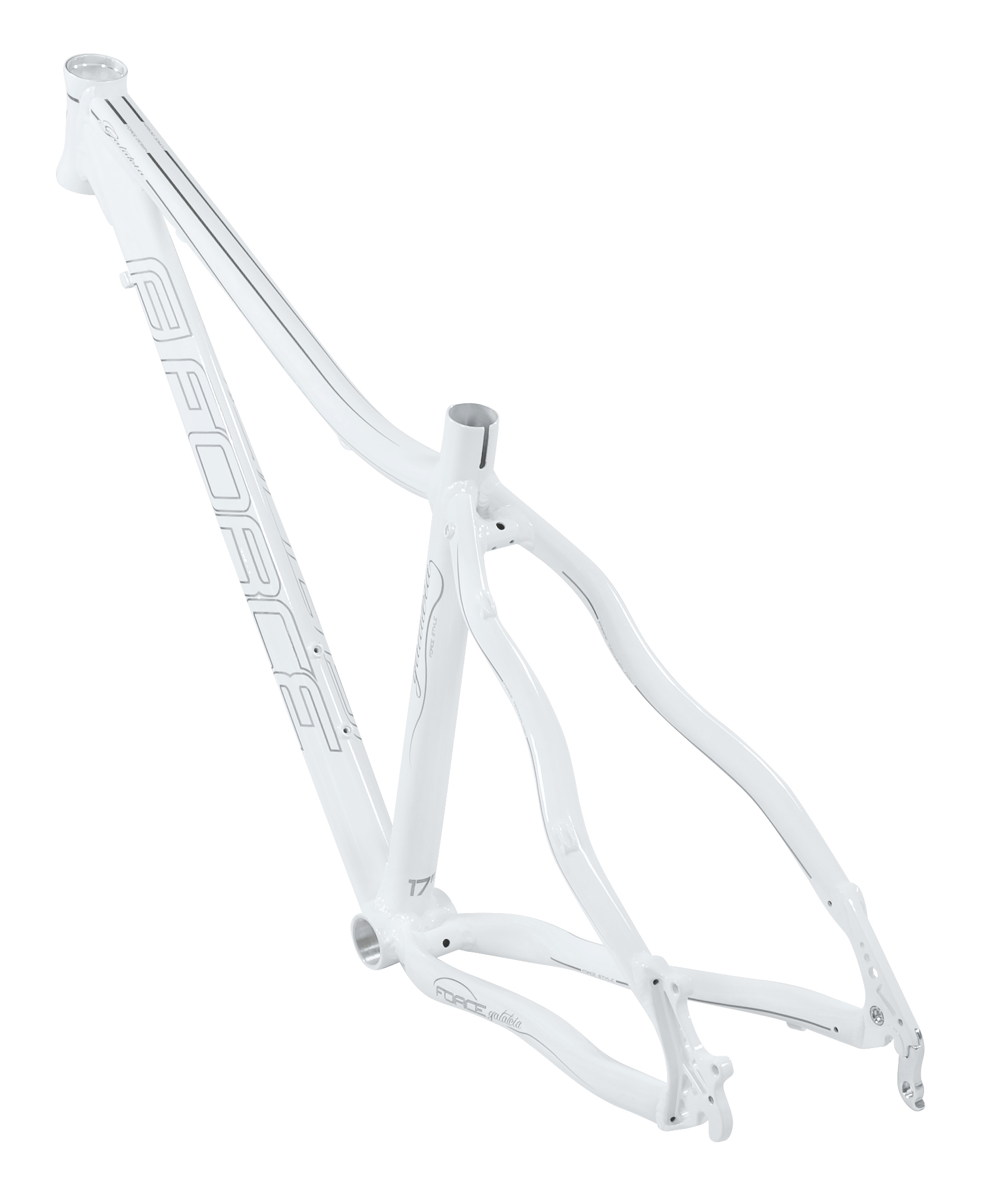 "rám FORCE GALATEIA MTB 29"" lady bílý M/ 17''"