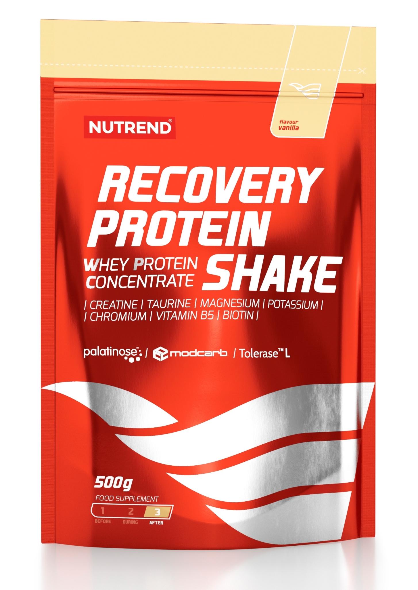 RECOVERY PROTEIN SHAKE, 500 g, vanilka