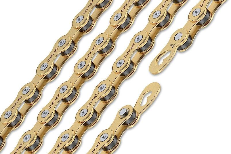 řetěz CONNEX 10sG pro 10-kolo, zlatý