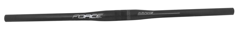 řídítka FORCE BASIC H4.2 rovné 31,8/680mm Al,černé mat