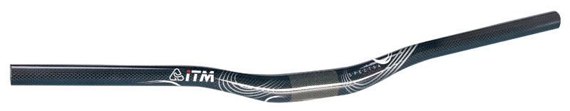 řidítka ITM SPECTRA-AL MTB proh. 31,8/640mm Al/kar