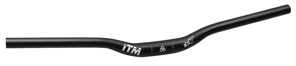 řidítka ITM XX7 MTB prohnutá 31,8/640 mm Al černá