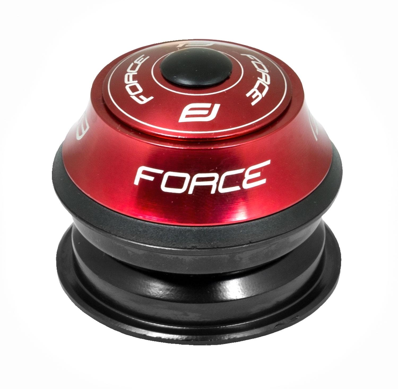 řízení F AHEAD 1 1/8'' polointegrované Fe, červené