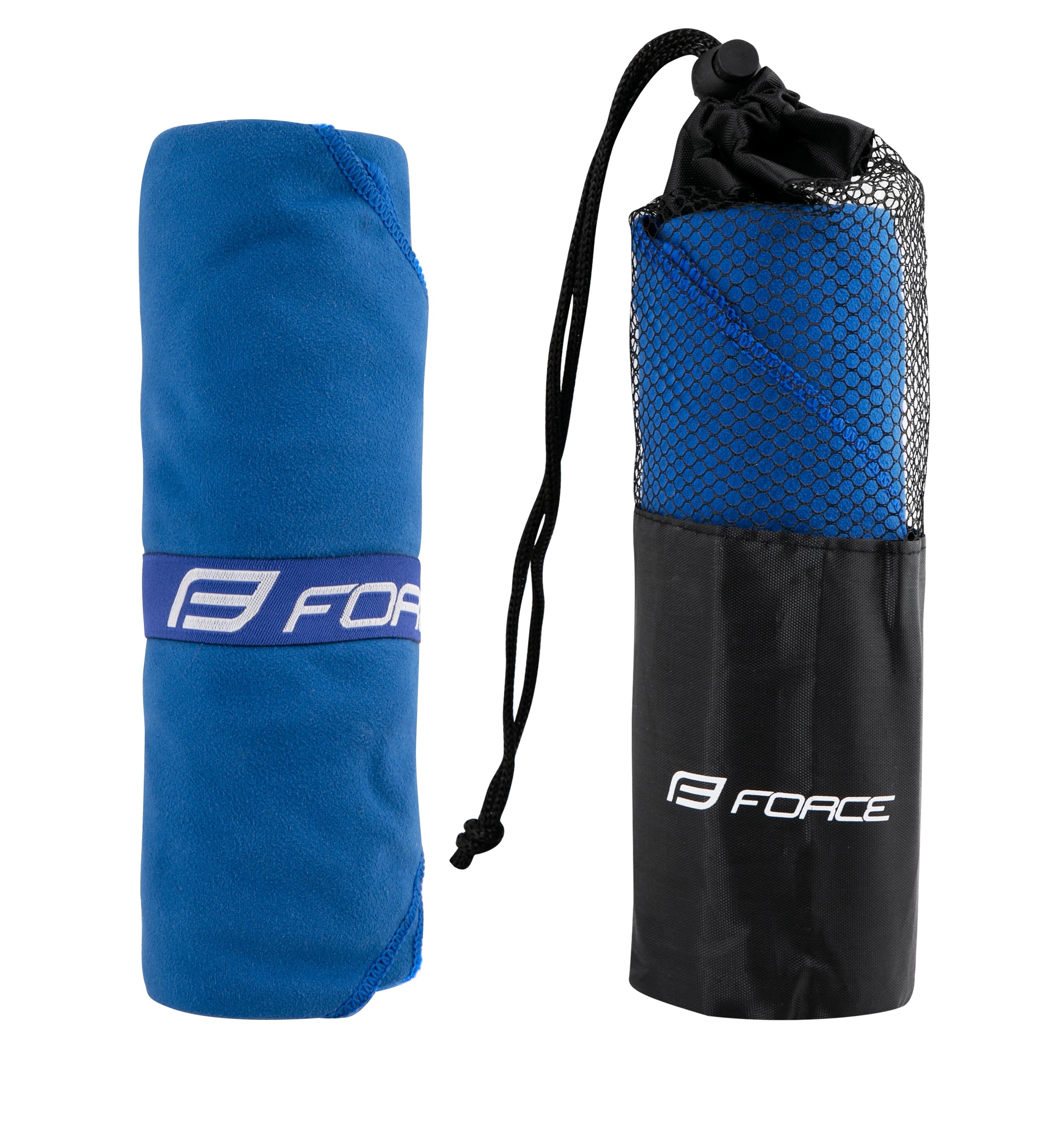 ručník FORCE cestovní 60X120cm, modrý