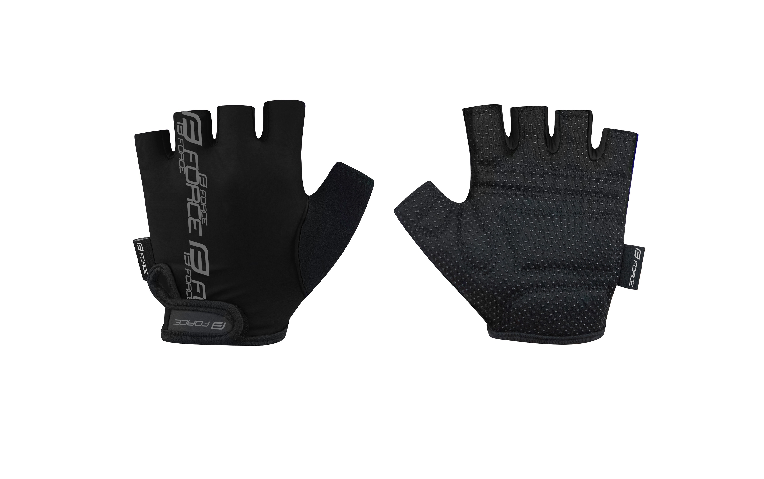 rukavice FORCE KID dětské dětské, černé S