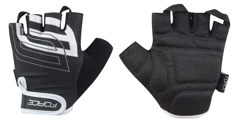rukavice FORCE SPORT, černé L