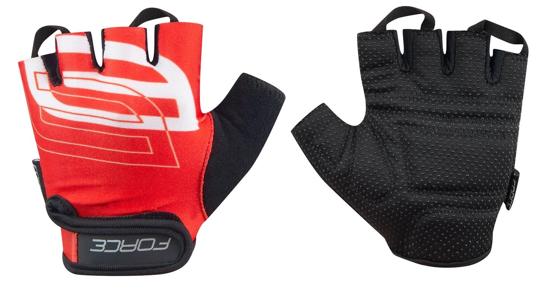 rukavice FORCE SPORT, červené XS