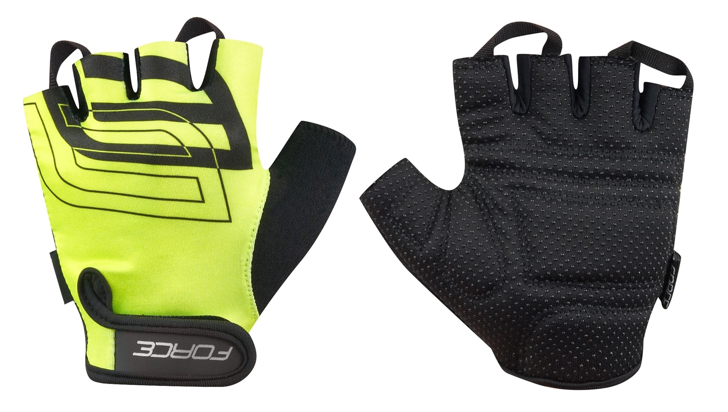 rukavice FORCE SPORT, fluo XXL