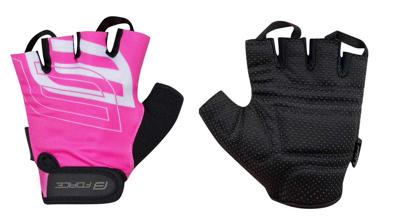 rukavice FORCE SPORT, růžové XS