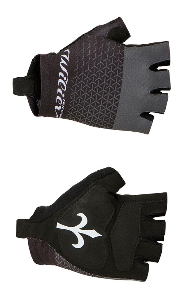 rukavice WILIER bez zapínání, černé M