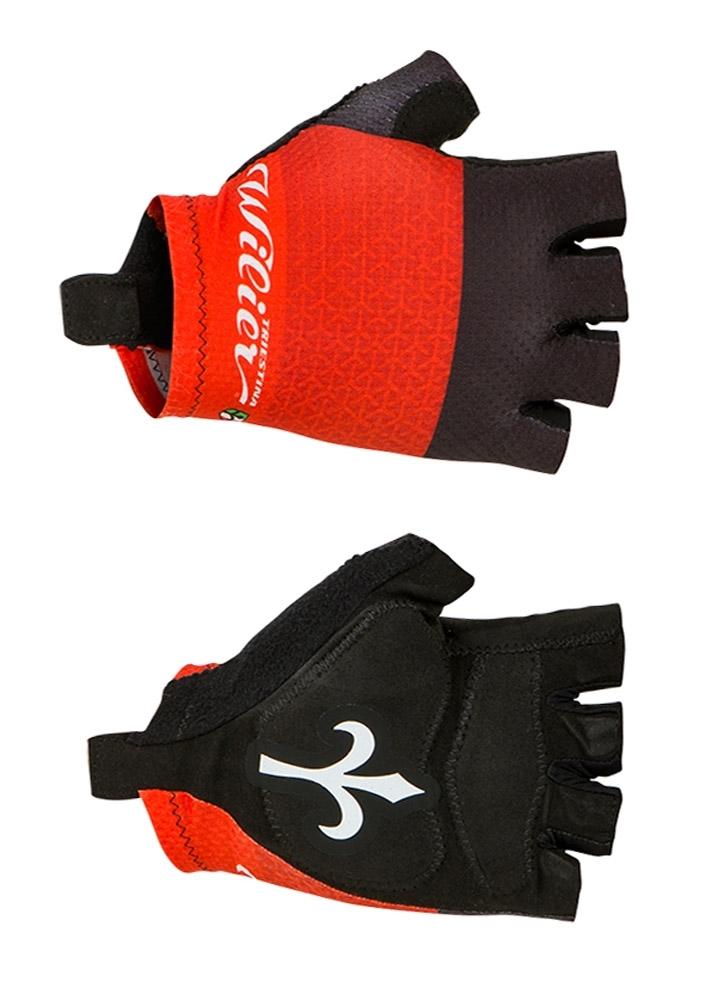 rukavice WILIER bez zapínání, červené M