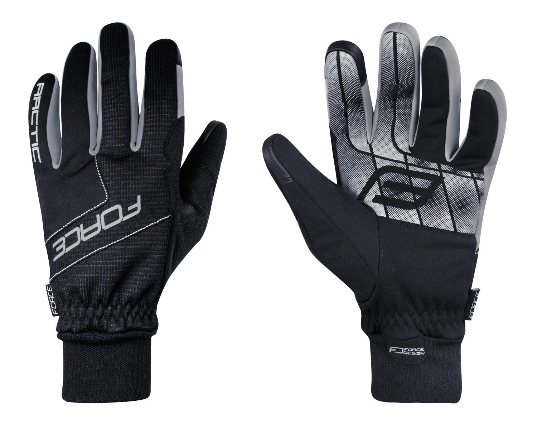 rukavice zimní FORCE ARCTIC, černé S