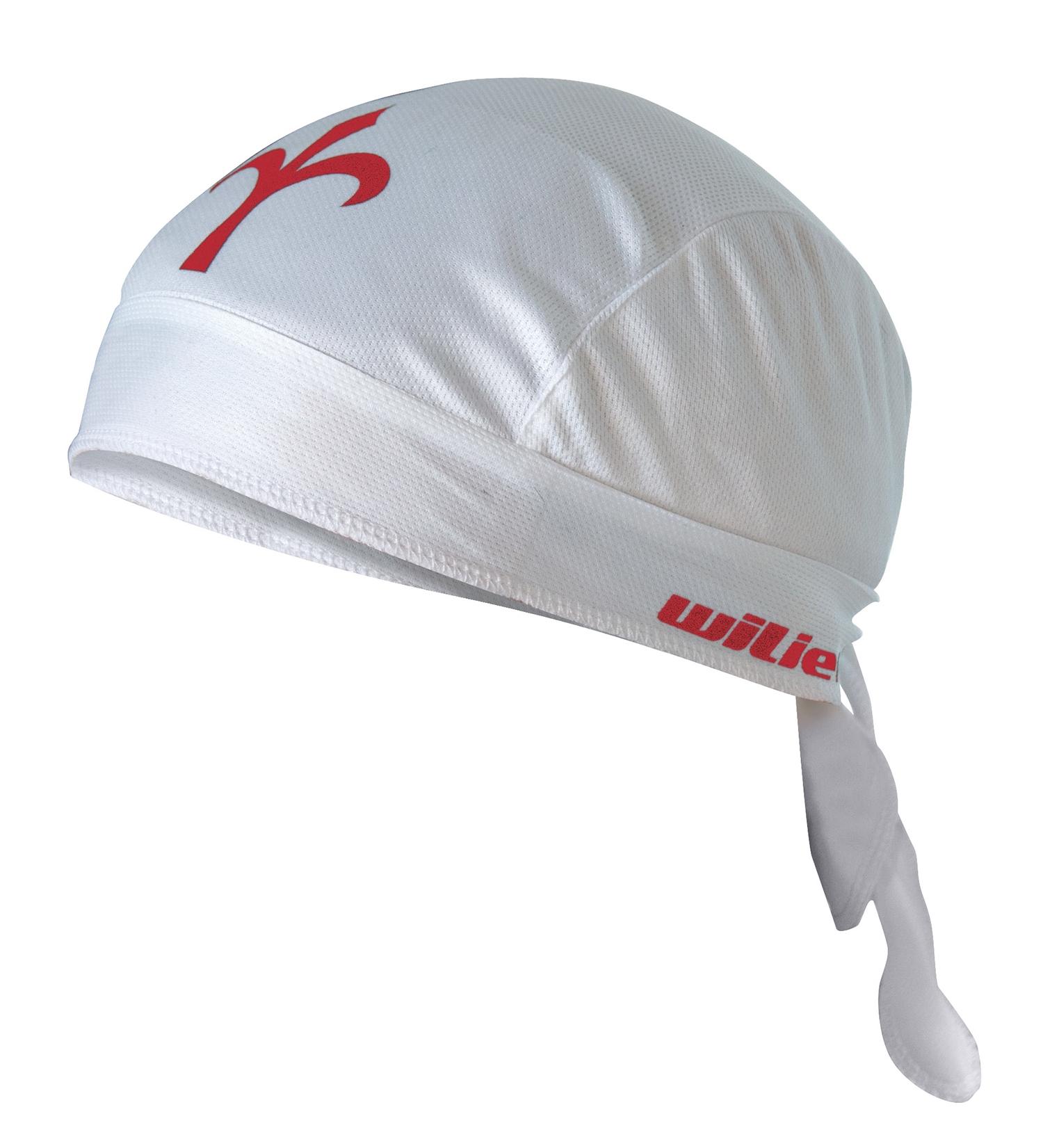 šátek na hlavu WILIER, bílý uni velikost