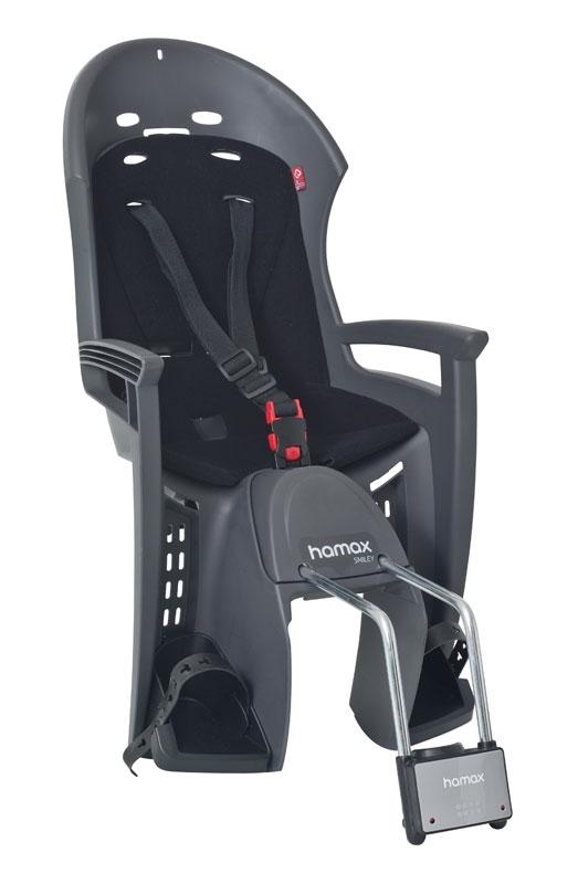 sedačka HAMAX SMILEY zadní tmavě šedá/černý