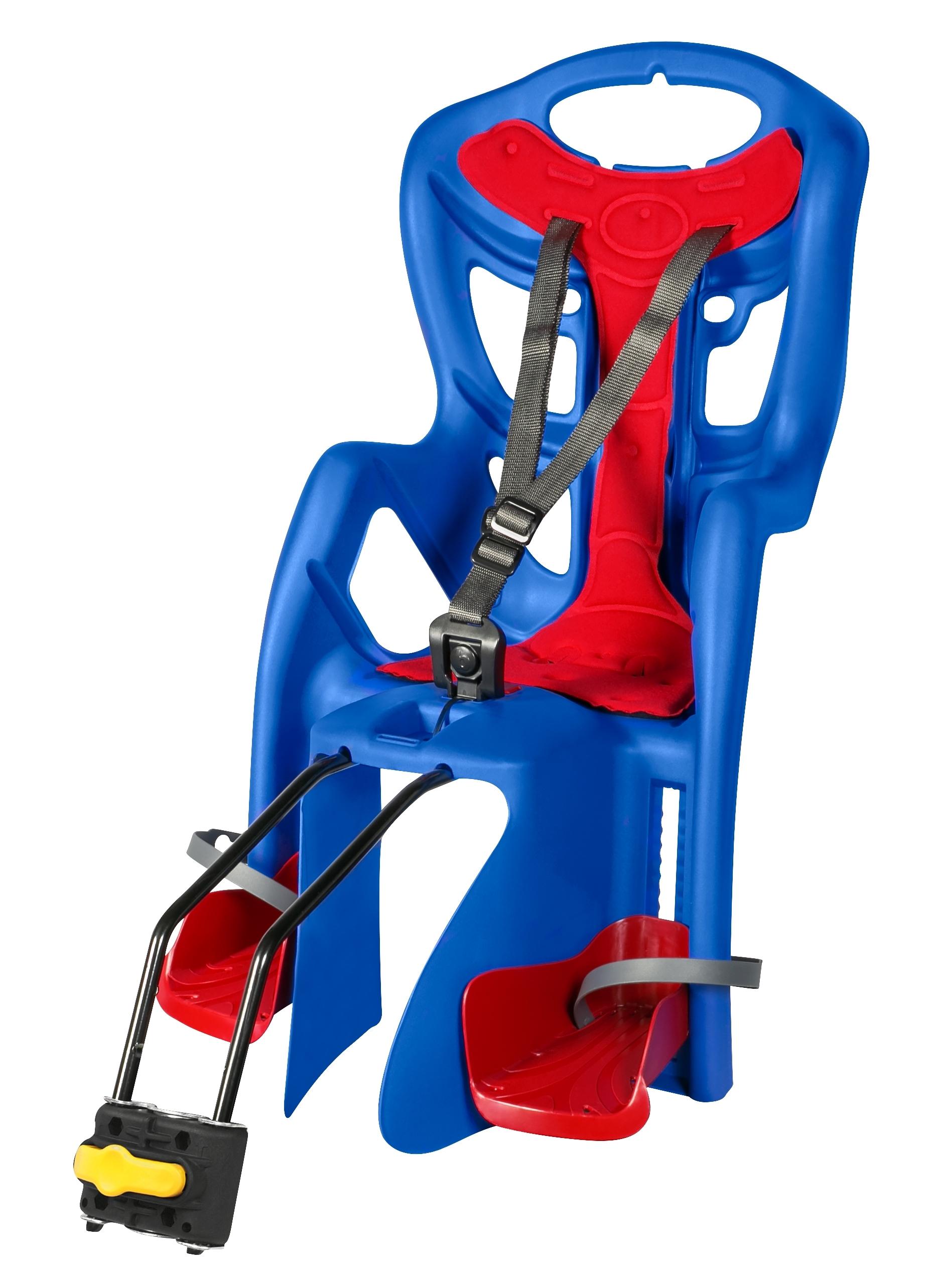 Cyklosedačka Bellelli PEPE STANDARD zadní modro-červená