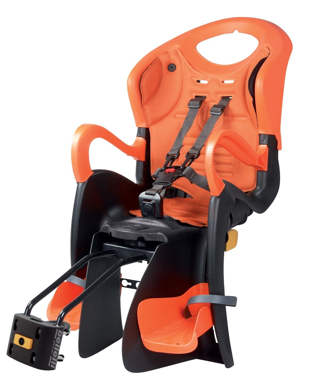 sedačka TIGER RELAX B-FIX zadní černo-oranžová