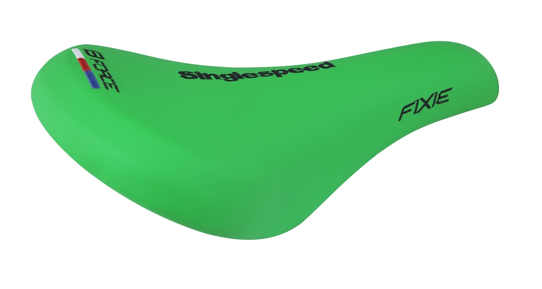 sedlo FORCE FIXIE sportovní retro, zelené