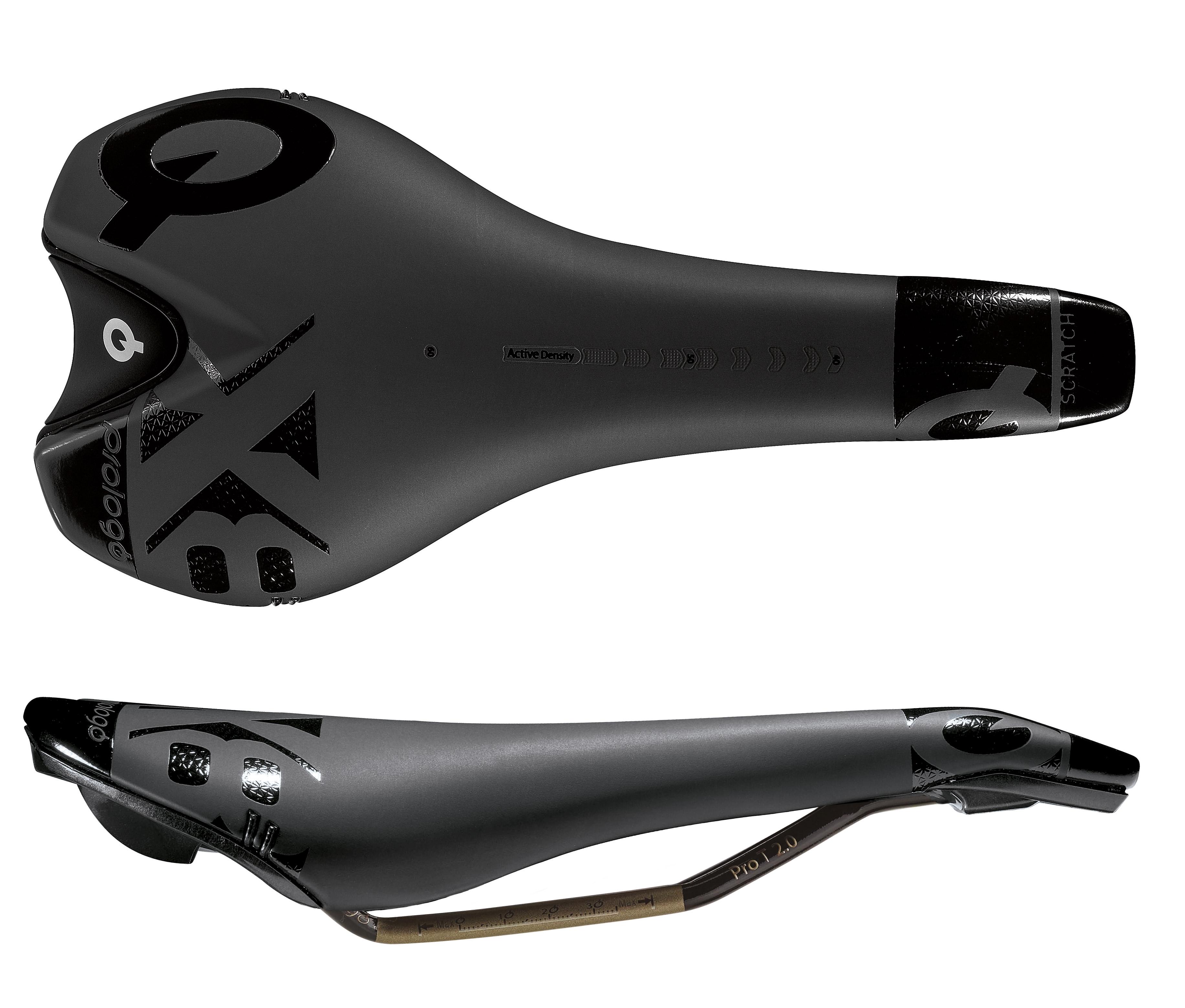 sedlo PROLOGO SCRATCH X8 T2.0 135 černé