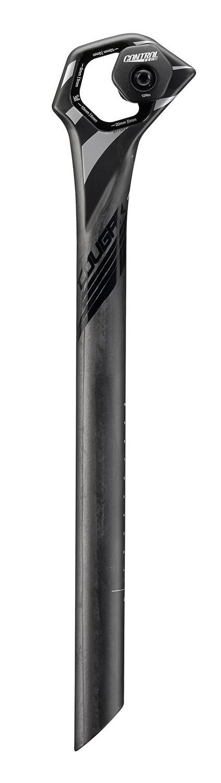 sedlovka COUGAR HEX 27,2/350 mm, karbonová, černá