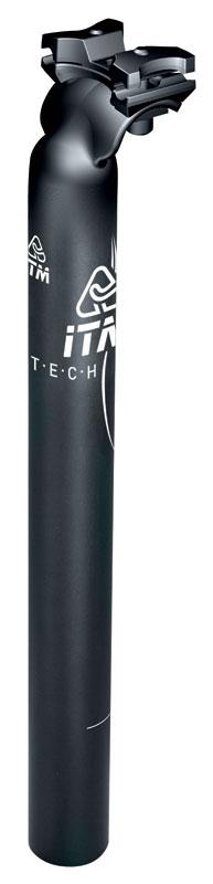 sedlovka ITM ALUTECH 7075 31,6/350mm Al, černá mat
