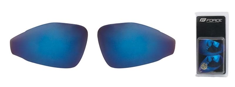 skla náhradní PRO pár, modrá laser