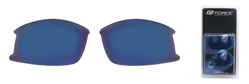 skla náhradní ULTRA pár, modrá laser