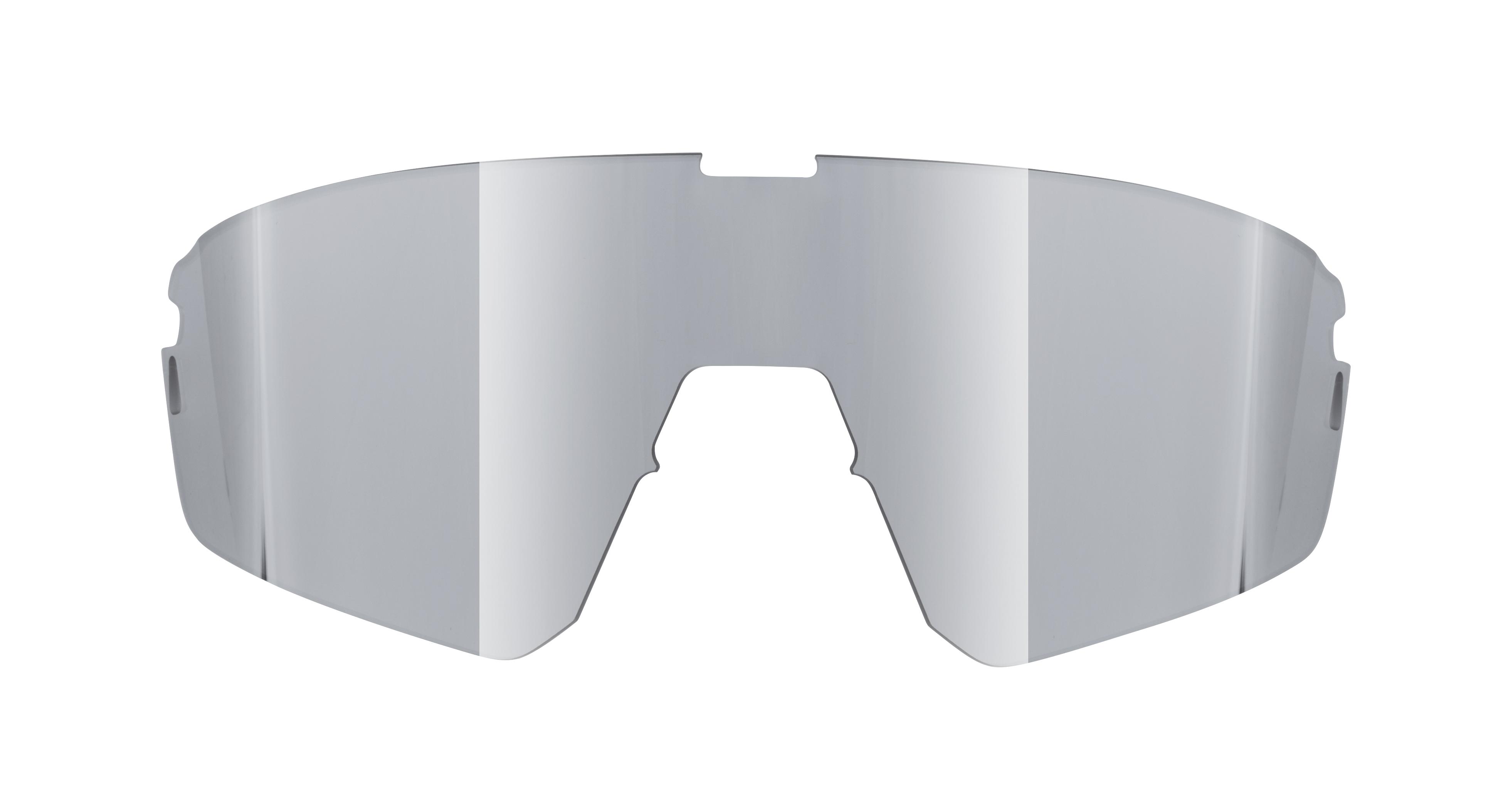sklo náhradní FORCE APEX, zrcadlové stříbrné