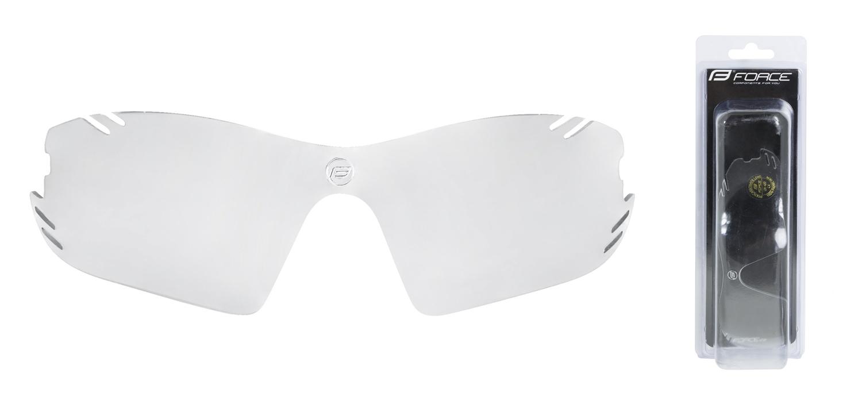 sklo náhradní RACE PRO , fotochromatické, šedé