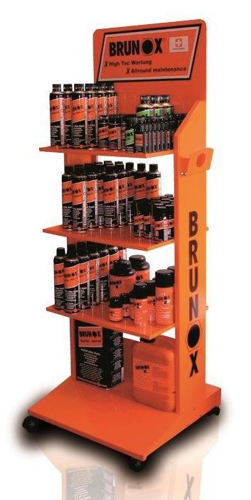 stojan BRUNOX produktový velký - podlahový