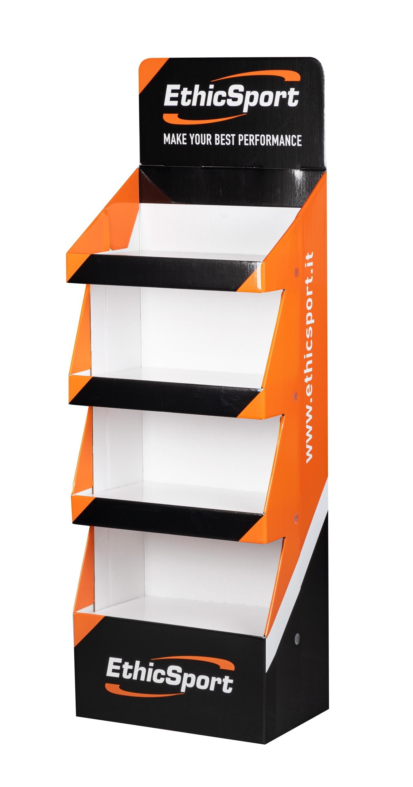 stojan ETHICSPORT produktový, velký, papírový