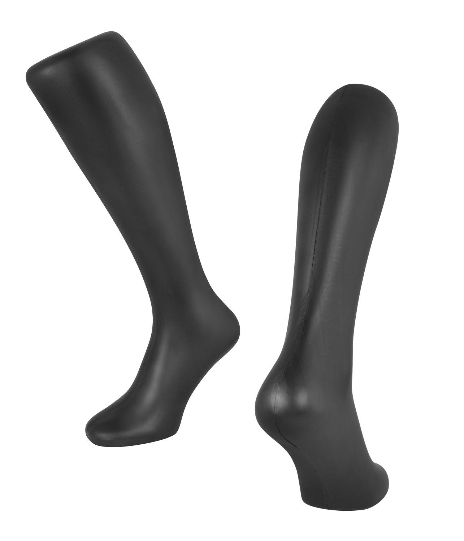 stojan tvar nohy na vystavení všech typů ponožek