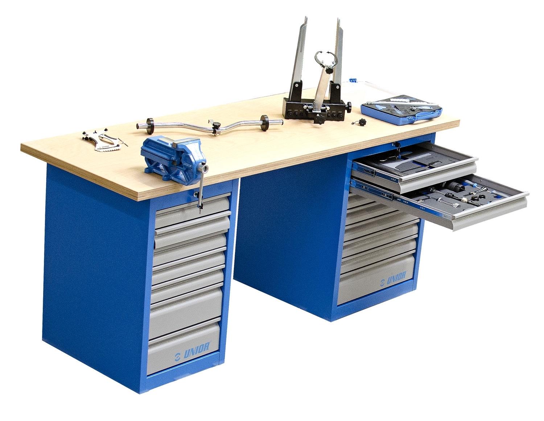 stůl pracovní UNIOR Master, kompletní sada 176ks