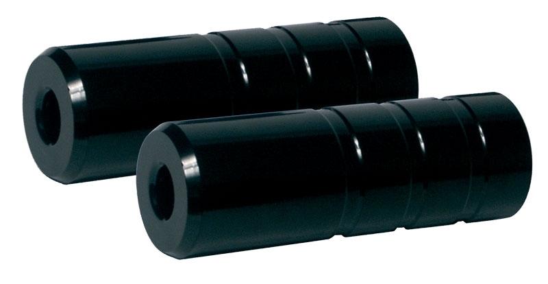 stupačky BMX 38/ 110/ 14mm pár Fe, černé