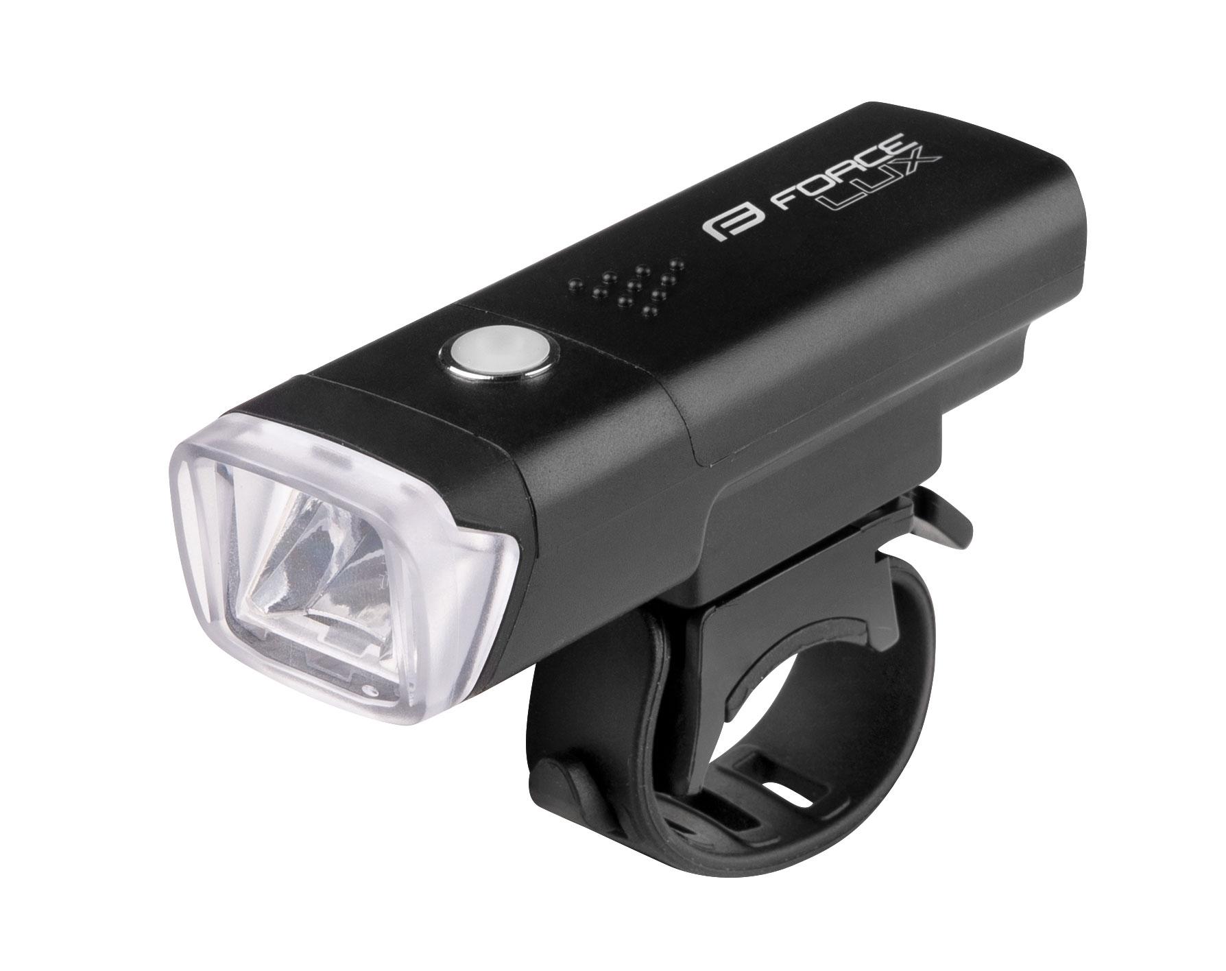 světlo přední FORCE LUX 1 dioda + baterie