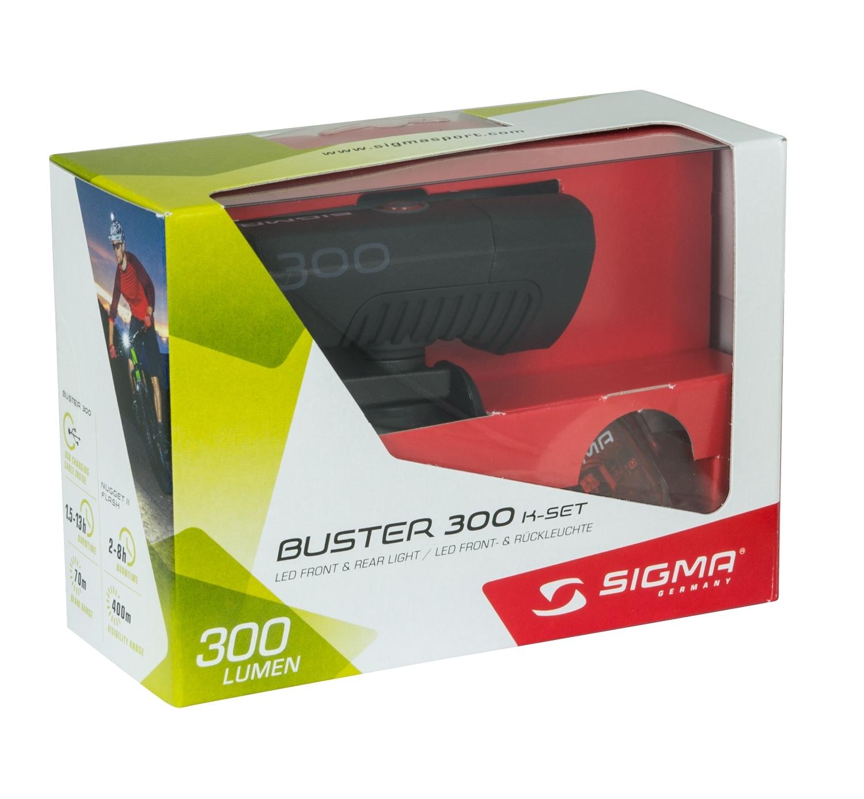svítilna+blikačka-sada SIGMA BUSTER300/NUGGET II od ninex.cz